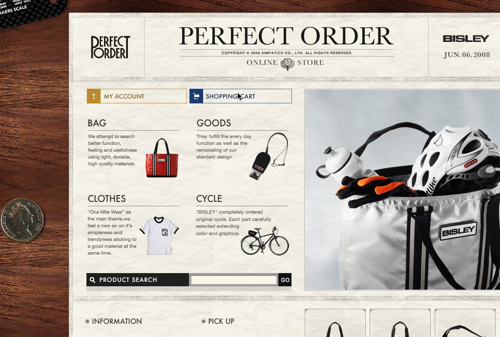 BISLEY PERFECT ORDER Online Store